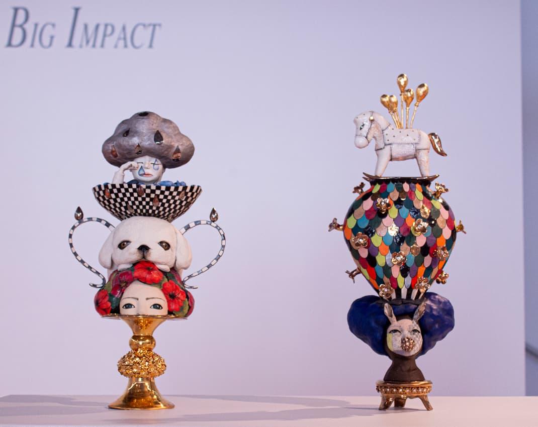 Small Sculptures Big Impact 2