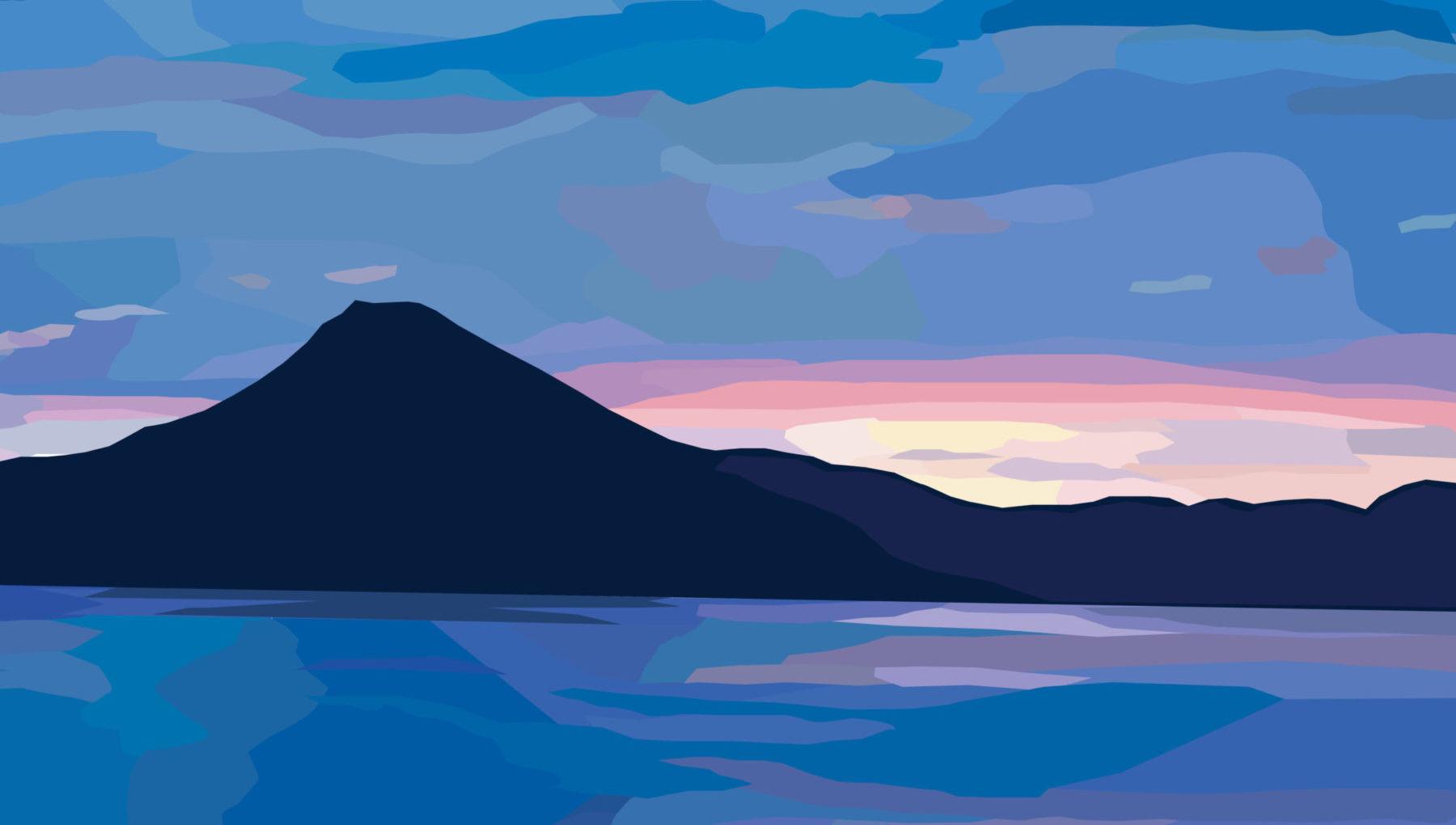 Lake Atitlan, Guatemala – Sunset Blues