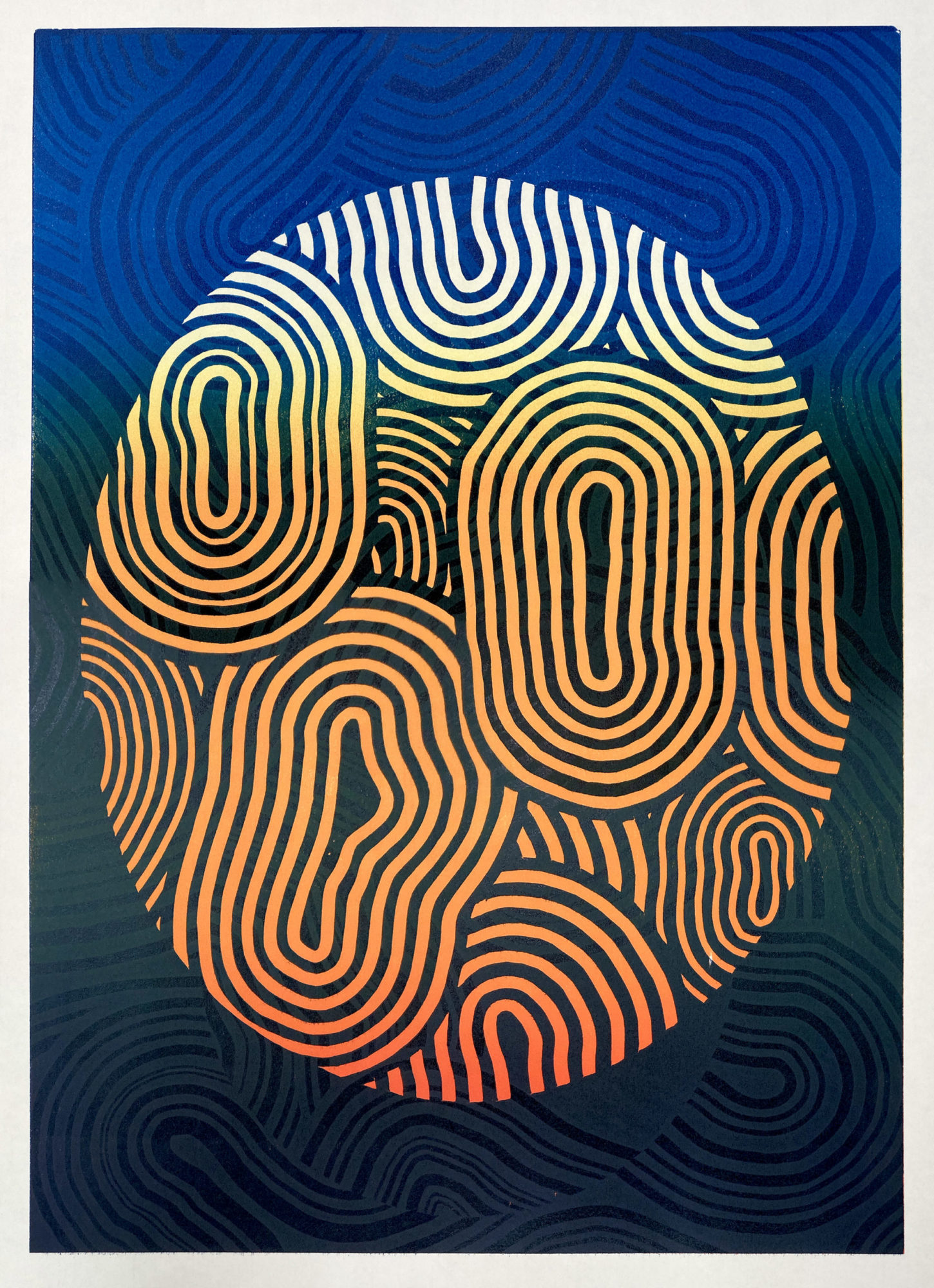 Untitled (relief print)