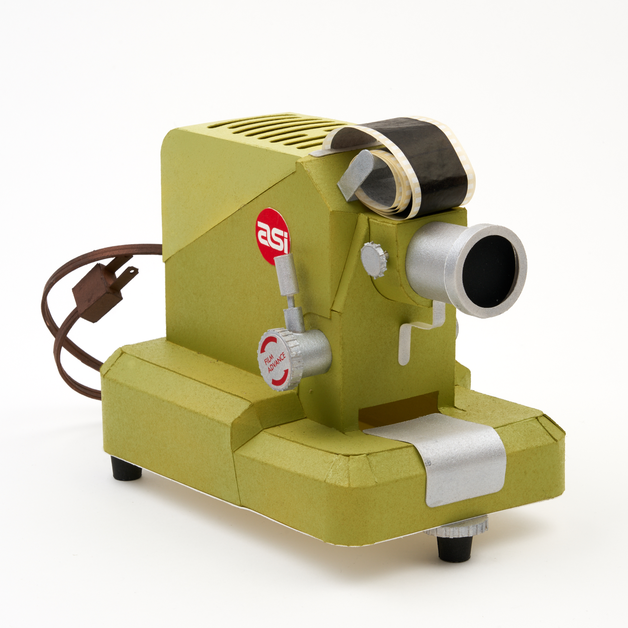 Film Projector for Paper Paper Film